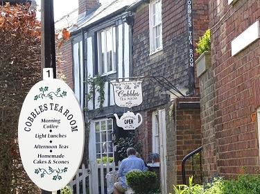 Tucking into a traditional afternoon tea of freshly-baked scones with cream and jam is one of the big attractions in the pretty town of Rye