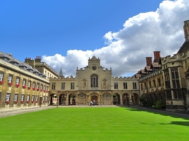Cambridge, with its beautiful historic colleges and classic river scenes, is less than an hour by train from London