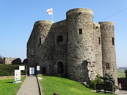 Rye Castle in East Sussex dates back to 1249 and is also known as Ypres Tower.
