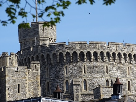 Windsor Castle, the world's oldest and largest occupied castle