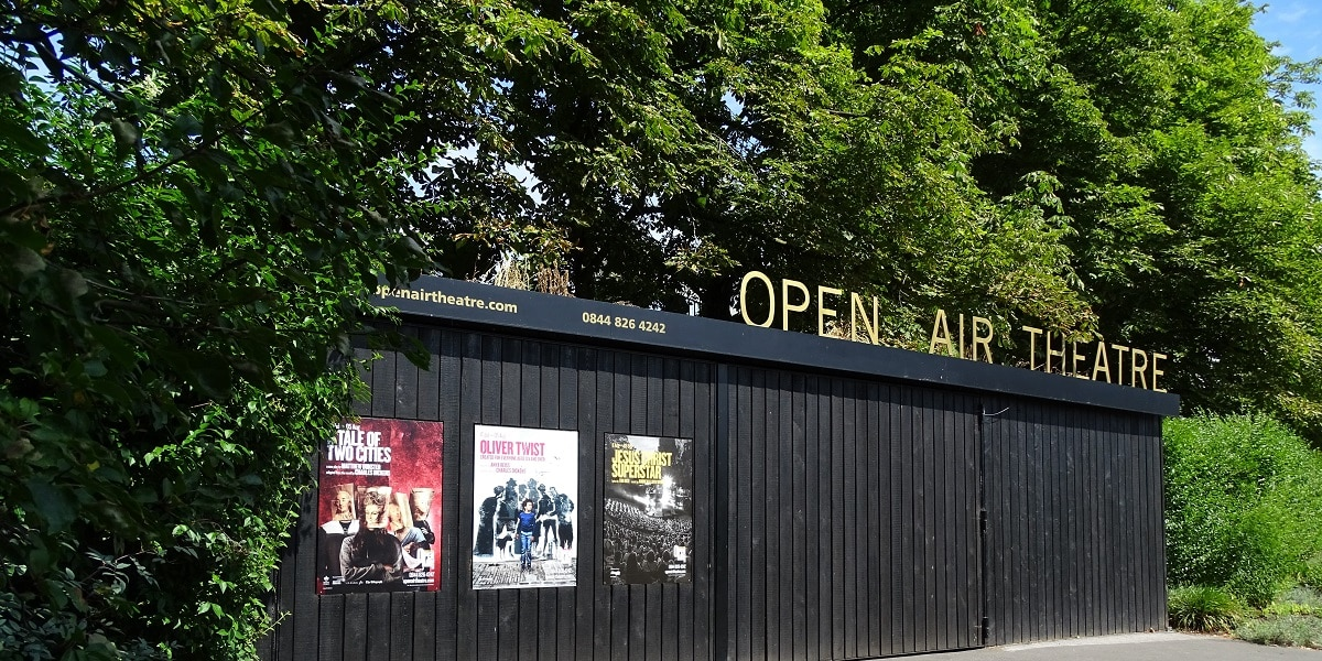 Catch an evening show at London's open air theatre at Regent's Park is one of the highlights of summer in London