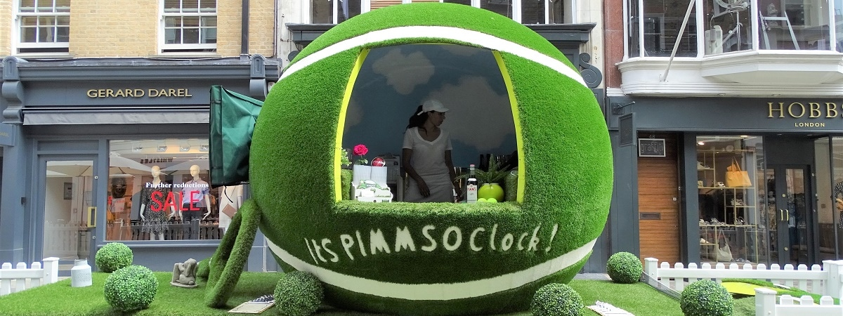 Wimbledon tennis and Pimms