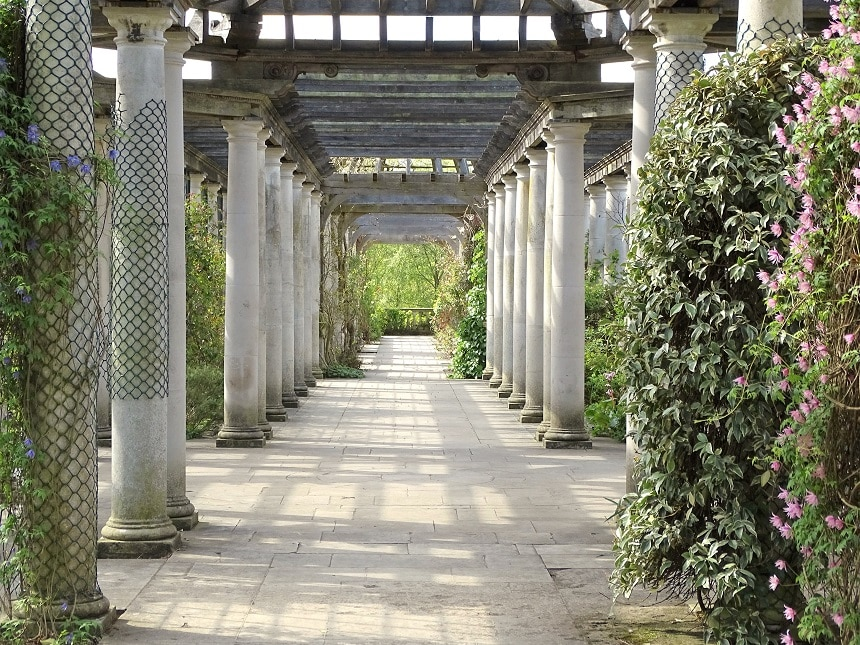 Visit the romantic Hill Garden and Pergola in Hampstead