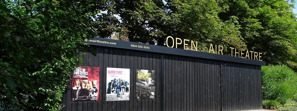 Catching an evening show at London's open air theatre at Regent's Park is one of the highlights of summer in London