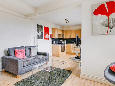 Our Standard apartments offer family-friendly accommodation in central London, with up to 2 bedrooms and a living-dining room