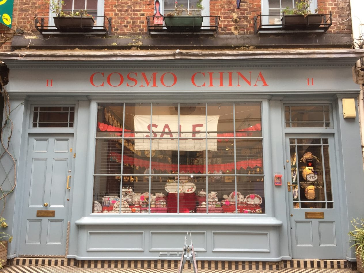 Get personalised china and gifts in Cosmo China, London
