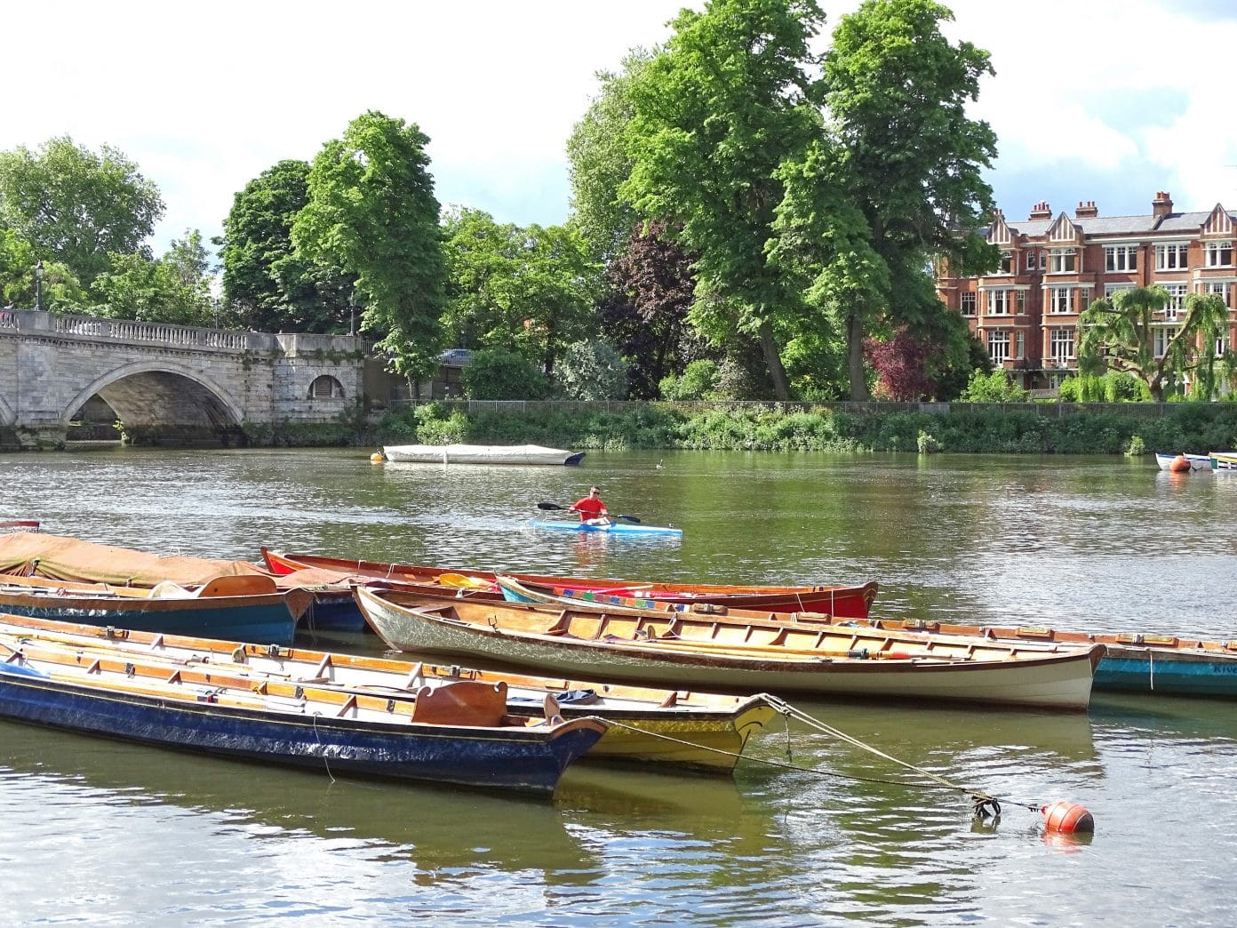Take a riverside walk in Richmond