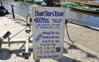 Pick up a boat trip in Richmond to explore London from the water