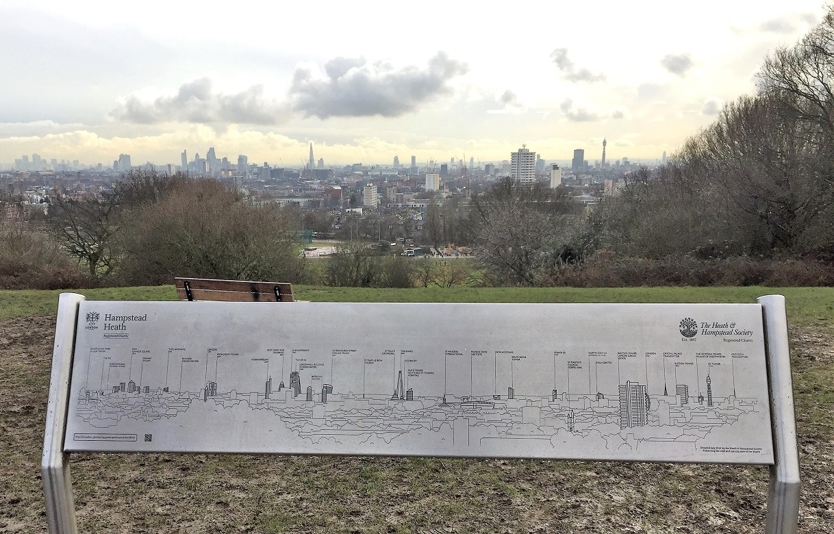 Get the best views of London from Parliament Hill