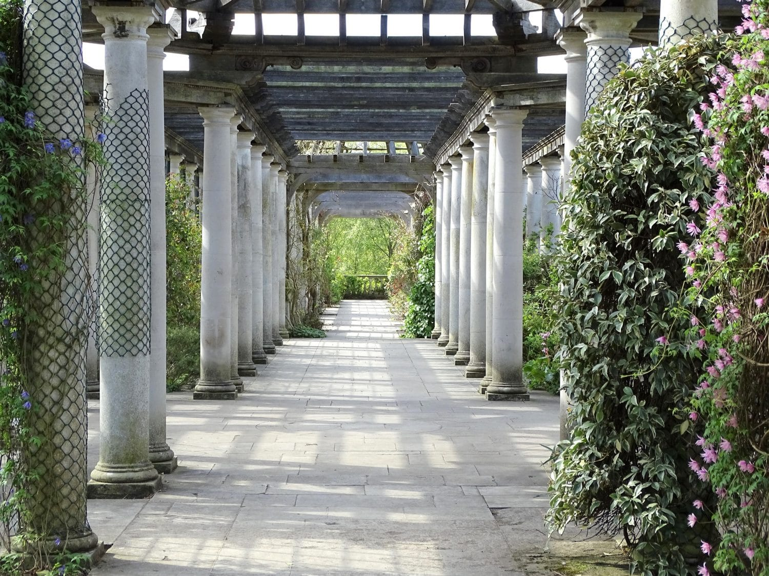 Visit the romantic Hill Garden and Pergola in leafy Hampstead