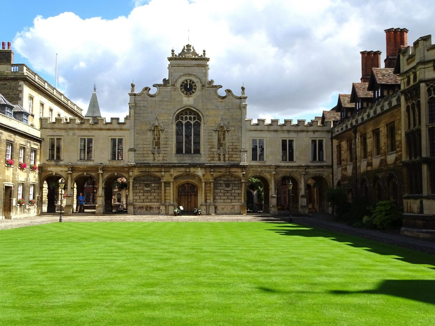 Step into Peterhouse College, one of the smallest in Cambridge