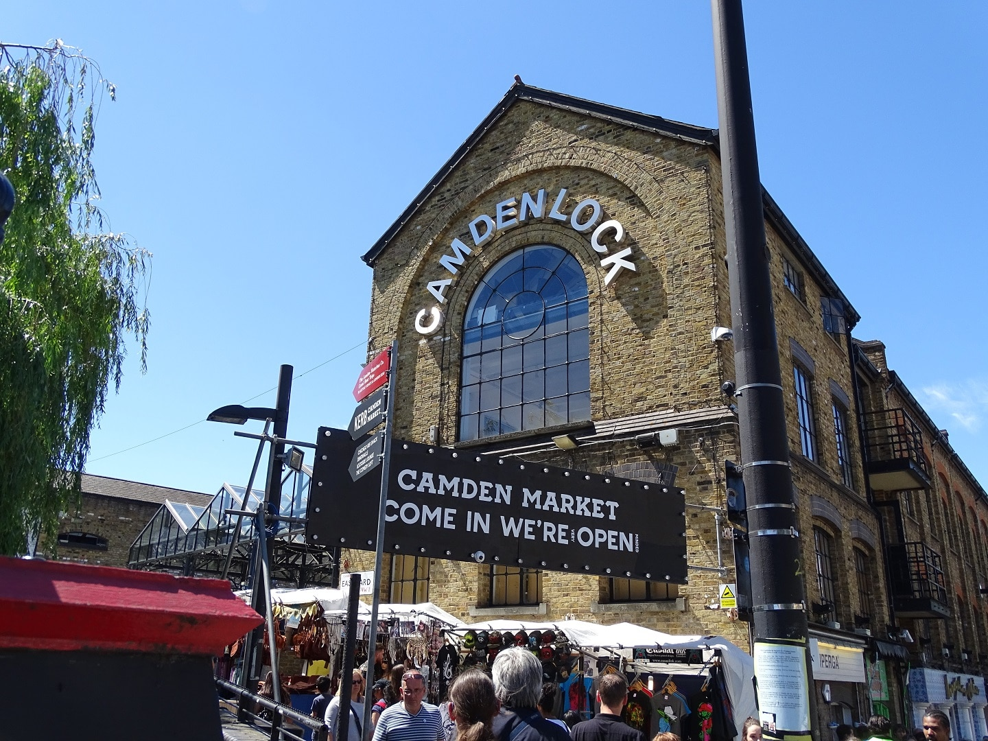 Take all the family to visit Camden Lock and Market