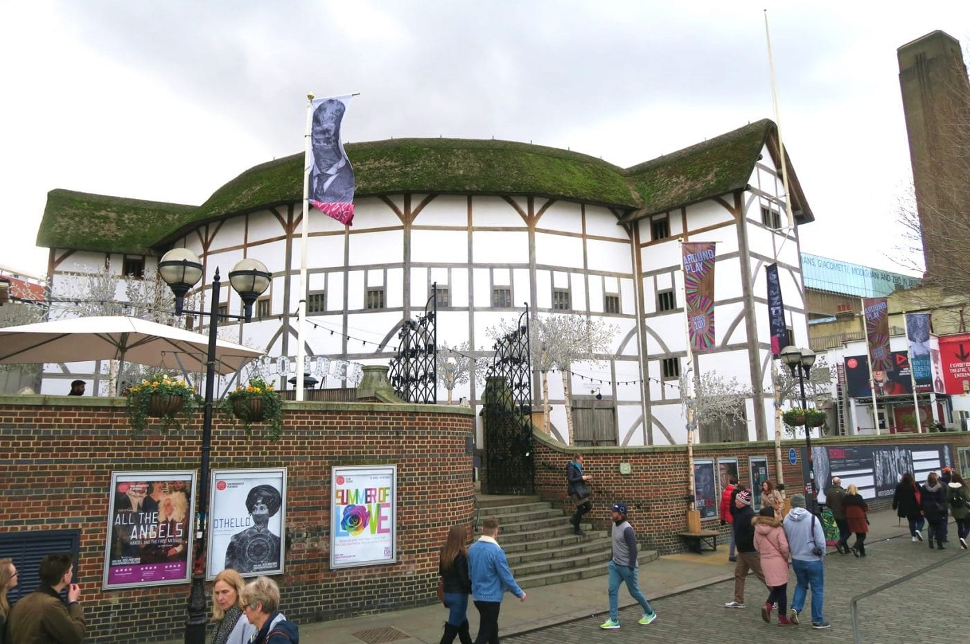 Take in a production at the Globe Theatre, London