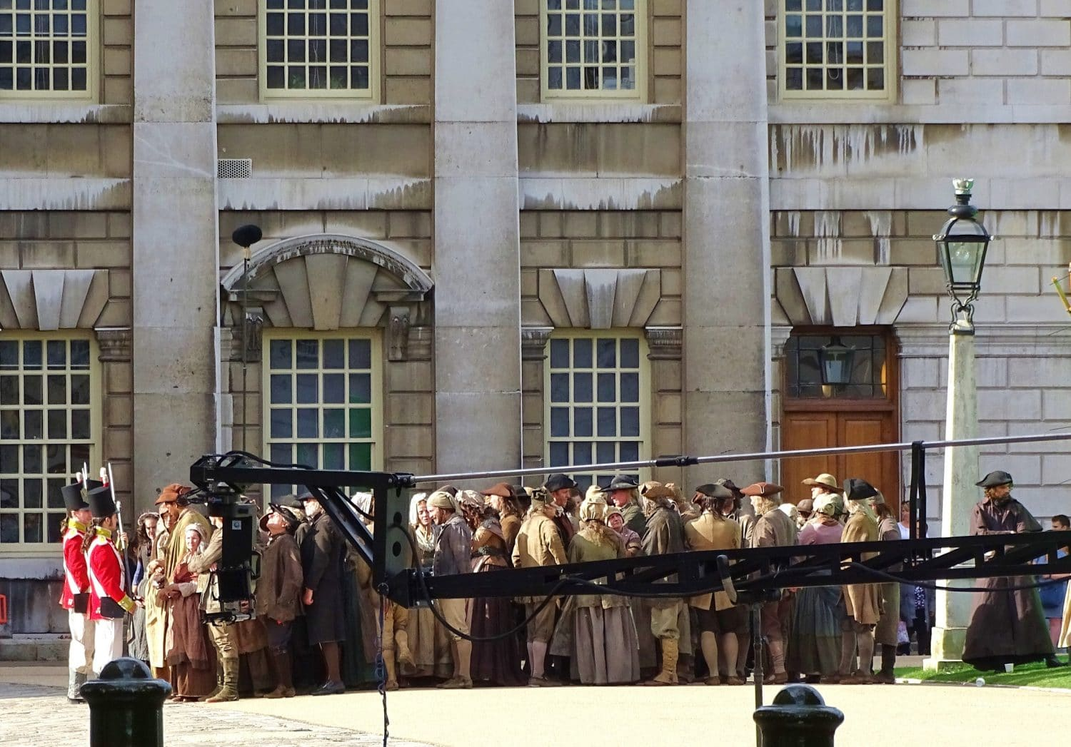 Parts of the BBC Poldark series were filmed in Greenwich