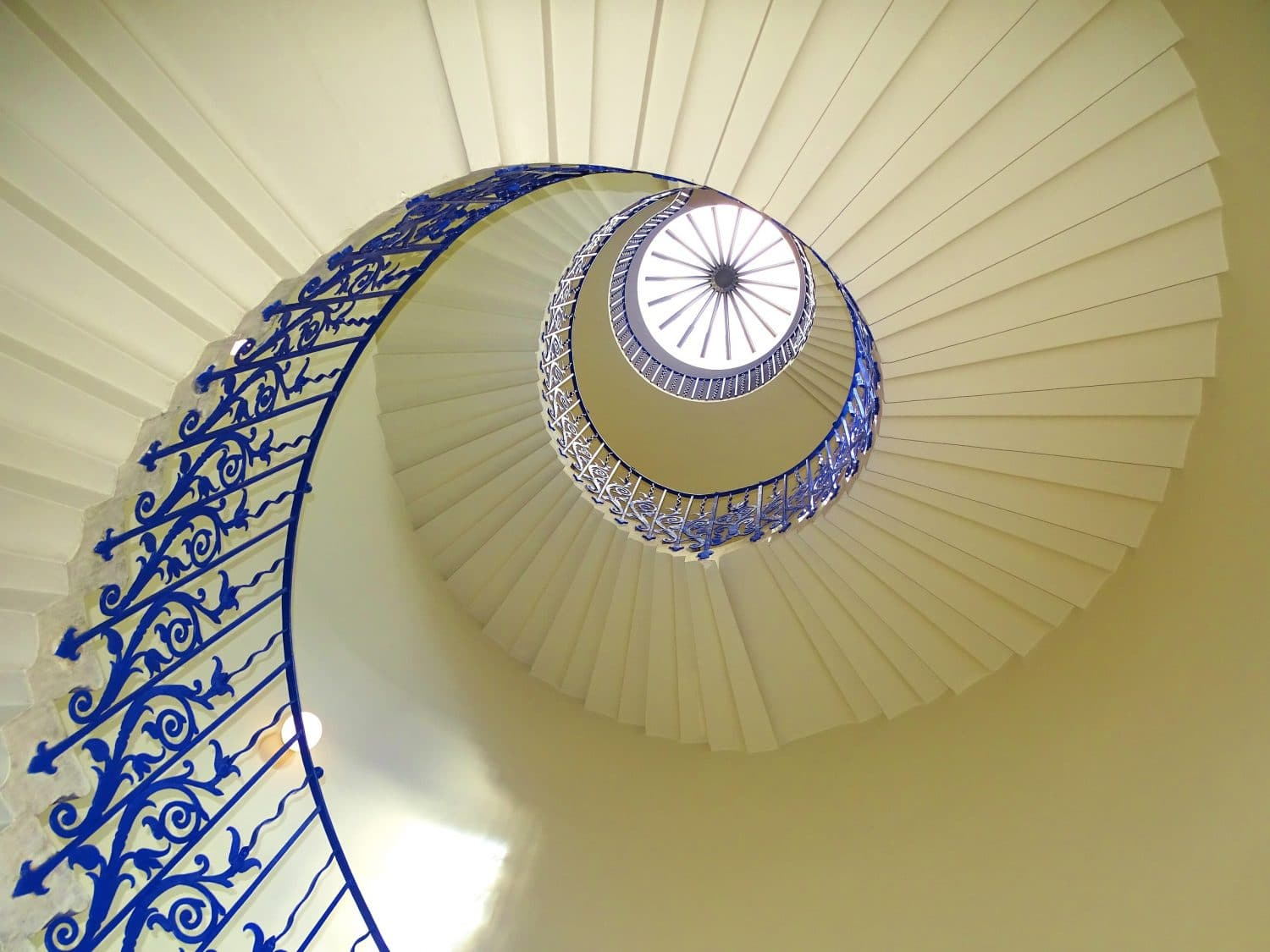 Visit the Queen's House, Greenwich, to see the Tulip Stairs