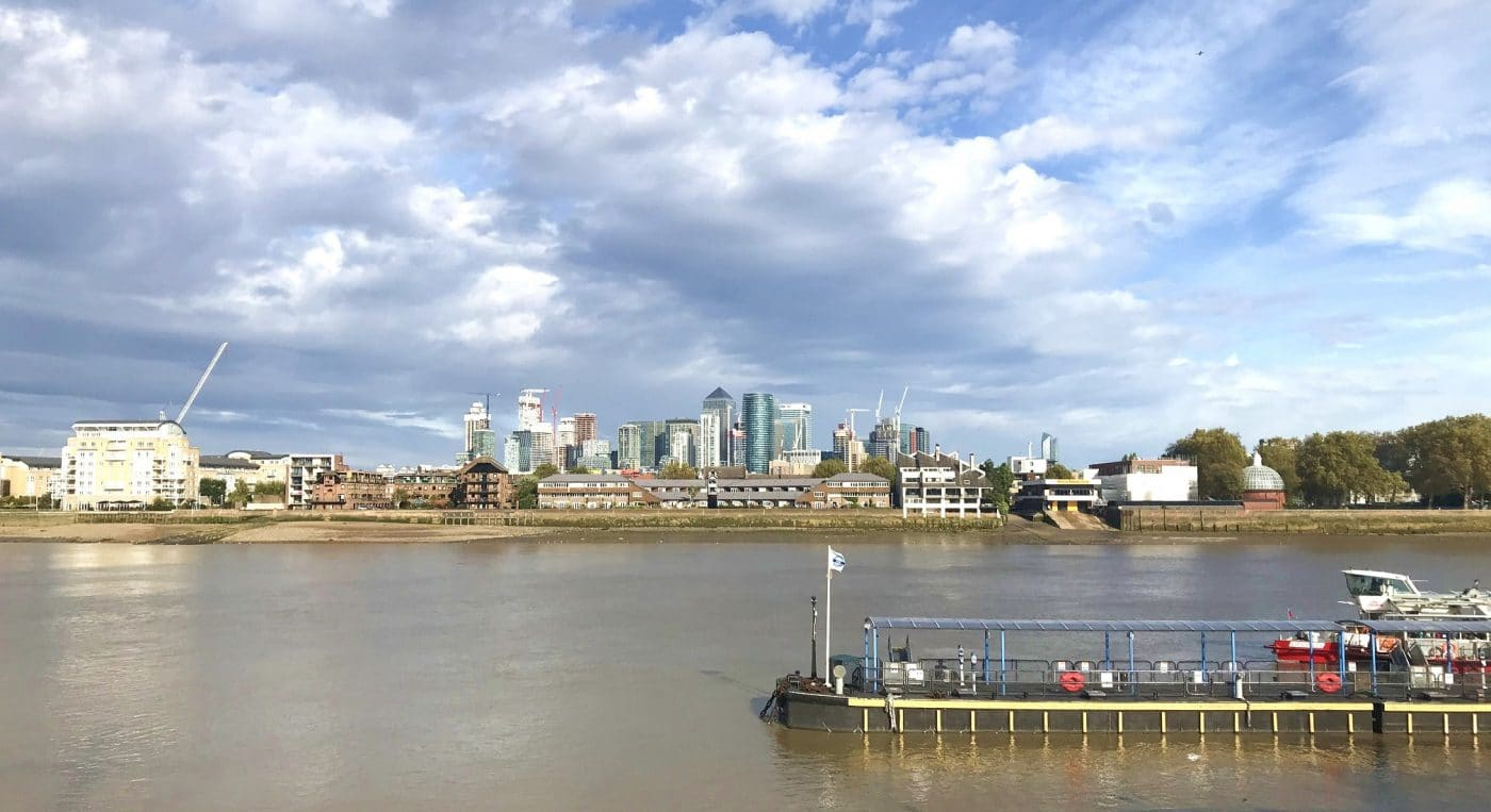 Get great river views from Greenwich