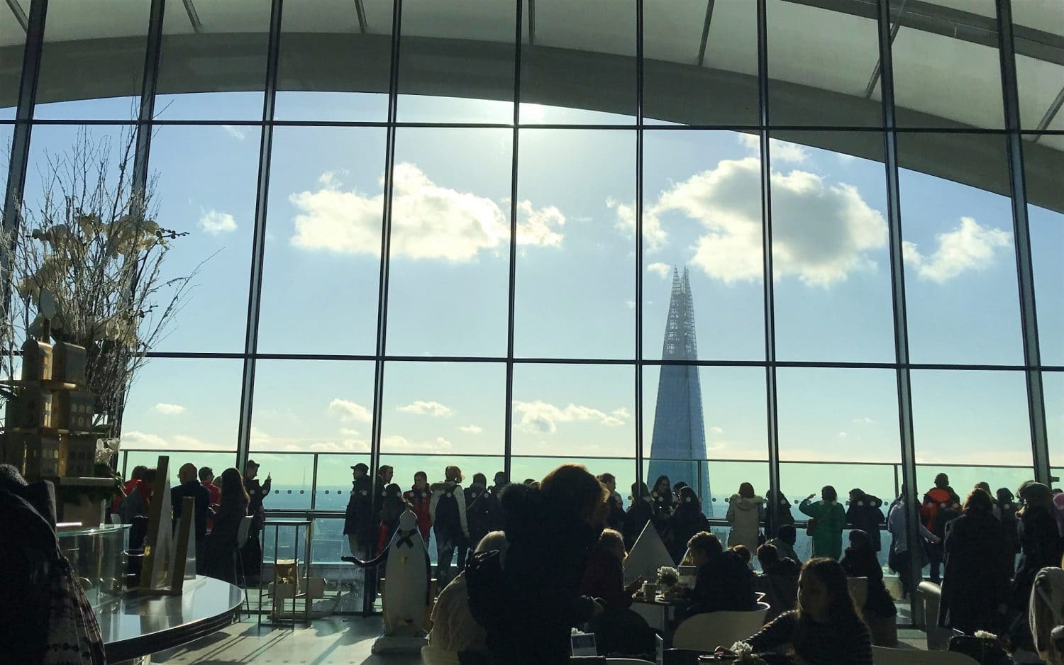 Get great views of the Shard from the Sky Garden