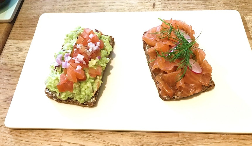 Great Scandi food at any time of day at Snaps & Rye