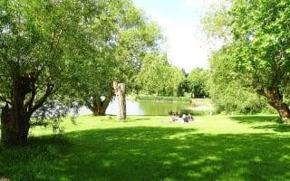 Lakeside picnic at Kenwood