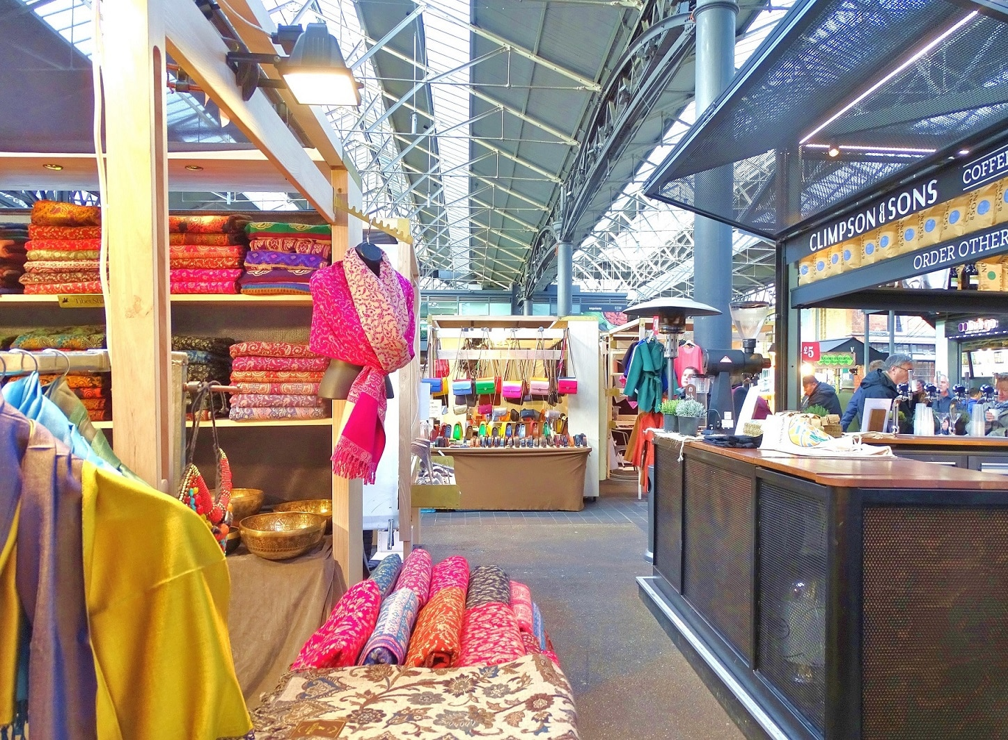 Find food, fashion and vintage items at Old Spitalfields Market