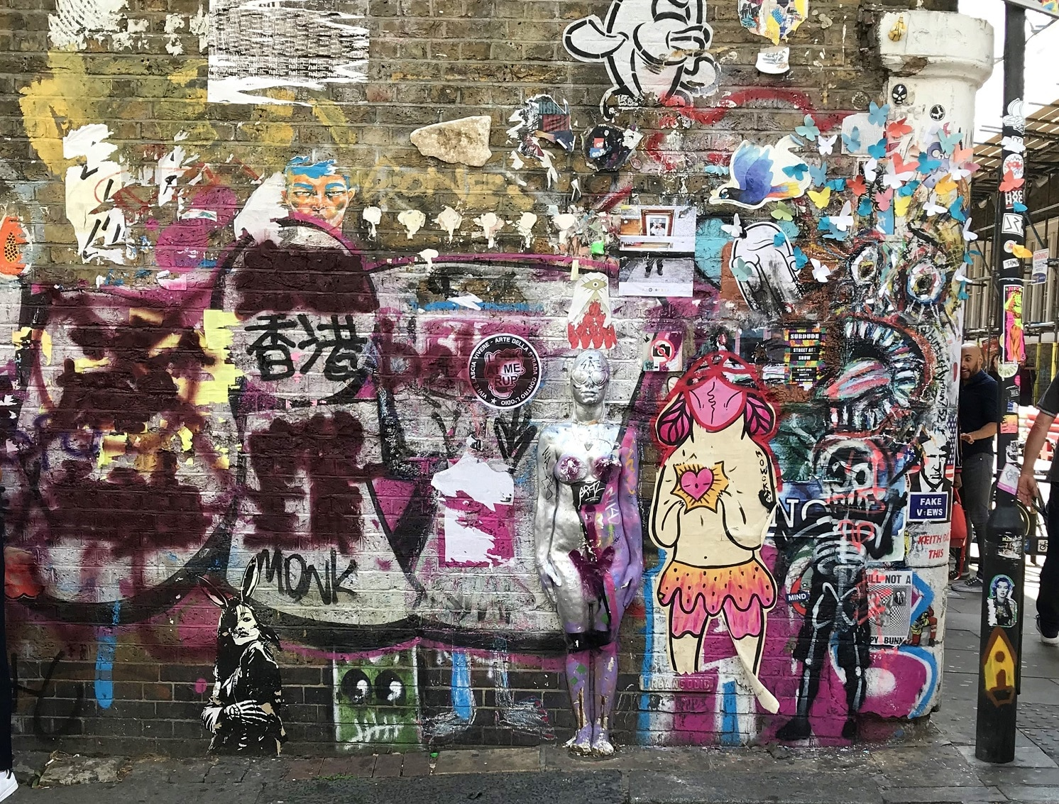 London's East End is the place to go for street art