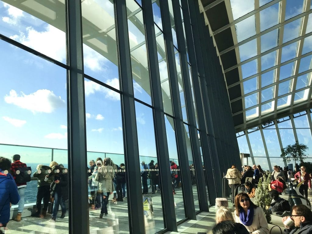 Get spectacular view over London's rooftops from the Sky Garden
