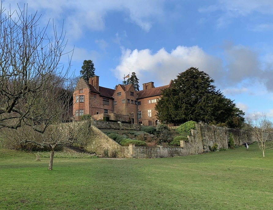 Chartwell in Kent is the family home and garden of Sir Winston Churchill
