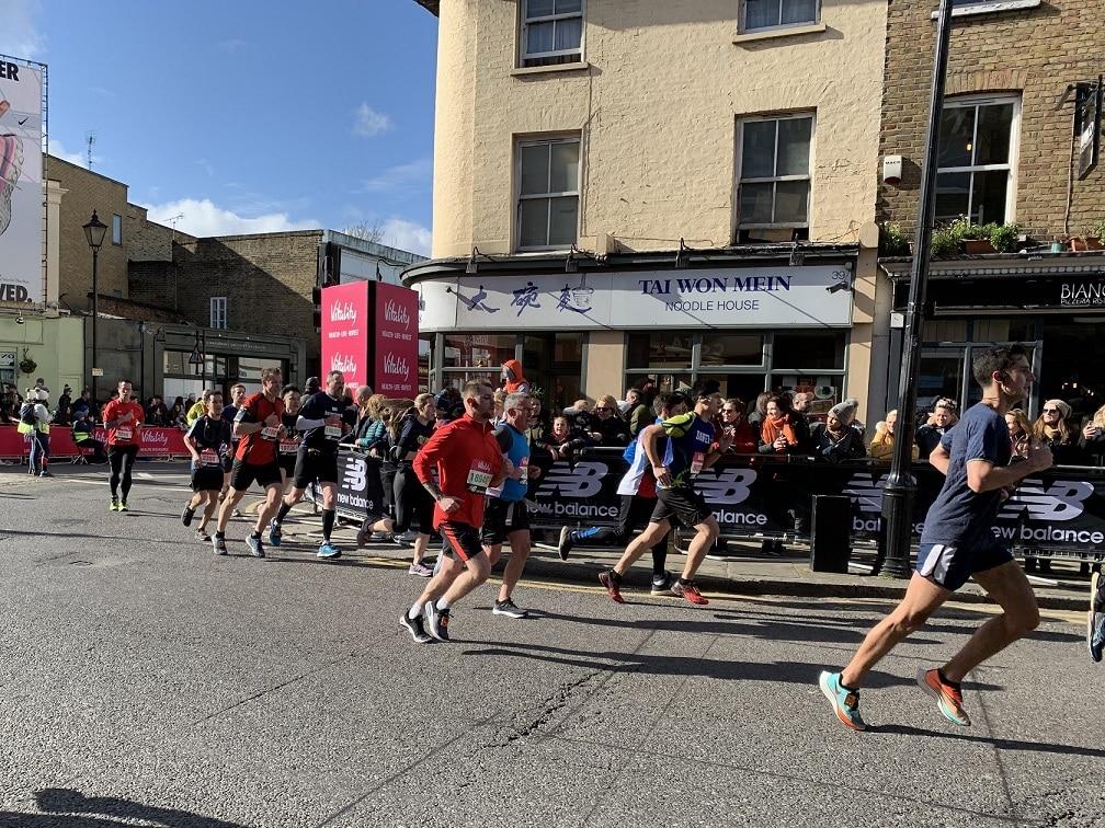Greenwich half marathon