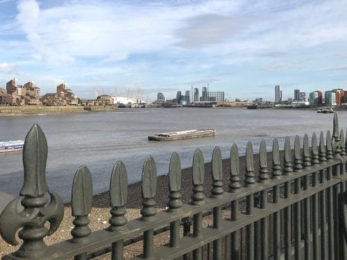 Thames views from Greenwich