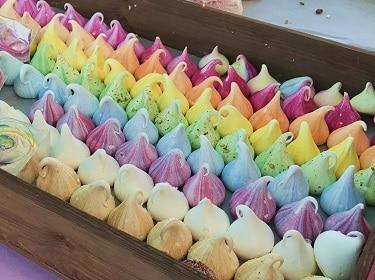 Sweet treats in London's markets