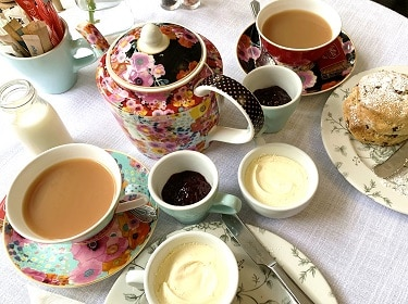 British afternoon tea